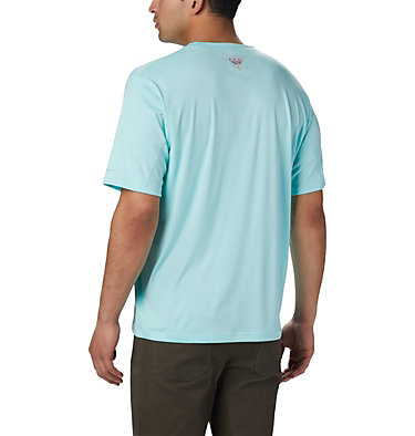 Men's PFG Zero Rules™ Short Sleeve Shirt PFG ZERO Rules™ SS Shirt | 469 | S, Gulf Stream, back