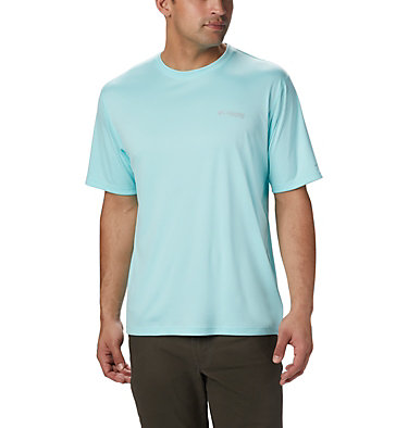 Men's PFG Zero Rules™ Short Sleeve Shirt PFG ZERO Rules™ SS Shirt | 469 | S, Gulf Stream, front