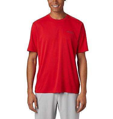 Men's PFG Zero Rules™ Short Sleeve Shirt PFG ZERO Rules™ SS Shirt | 469 | S, Red Spark, front