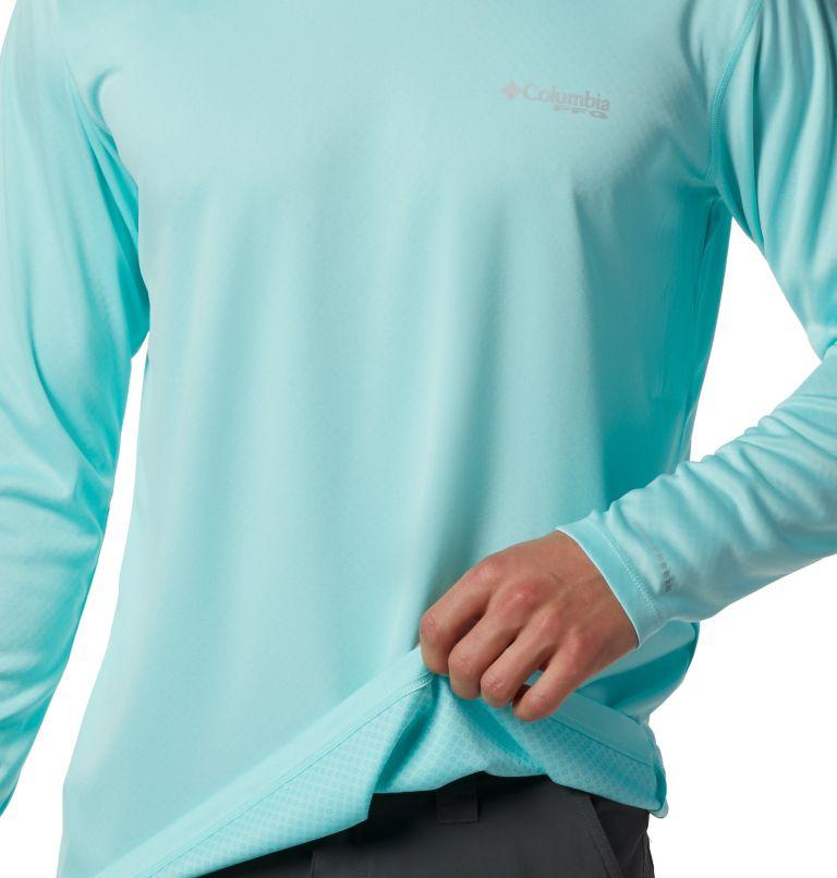 PFG ZERO Rules™ LS Shirt | 499 | M Men's PFG Zero Rules™ Long Sleeve Shirt, Gulf Stream, a1