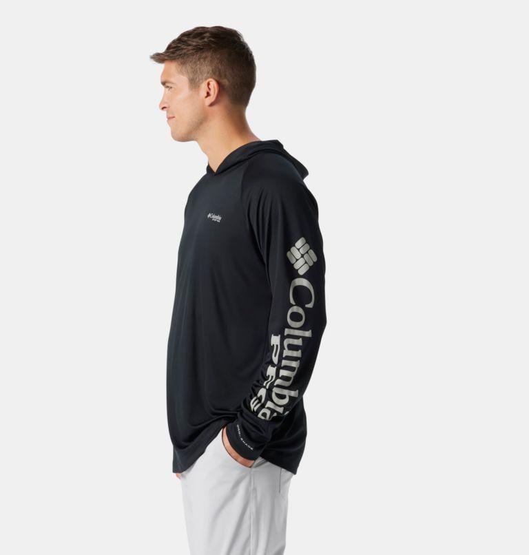 Terminal Tackle™ Hoodie | 010 | L Men's PFG Terminal Tackle™ Hoodie, Black, Cool Grey Logo, a1