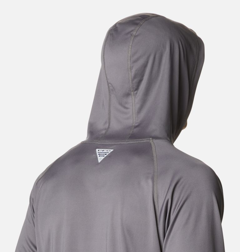 Terminal Tackle™ Hoodie | 024 | S Men's PFG Terminal Tackle™ Hoodie, City Grey, White Logo, a3