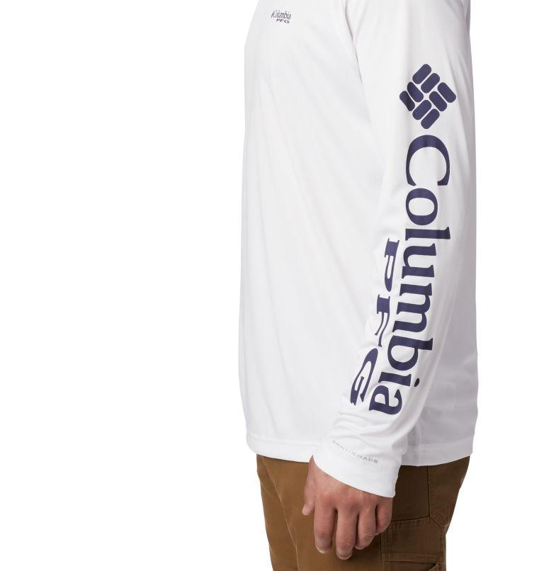 Terminal Tackle™ Hoodie | 100 | XS Men's PFG Terminal Tackle™ Hoodie, White, Nightshade Logo, a1