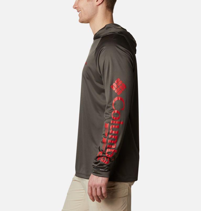 Terminal Tackle™ Hoodie | 326 | XL Men's PFG Terminal Tackle™ Hoodie, Alpine Tundra, Red Spark Logo, a1