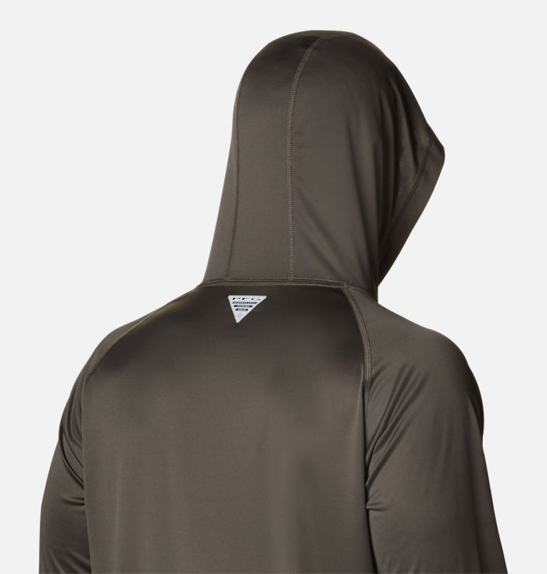 Terminal Tackle™ Hoodie | 326 | XL Men's PFG Terminal Tackle™ Hoodie, Alpine Tundra, Red Spark Logo, a3