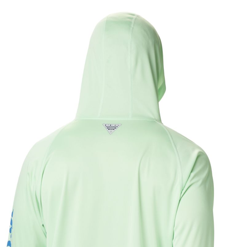 Terminal Tackle™ Hoodie | 372 | XS Men's PFG Terminal Tackle™ Hoodie, Key West, Vivid Blue Logo, a3