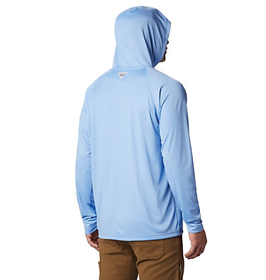 Men's PFG Terminal Tackle™ Hoodie Terminal Tackle™ Hoodie | 455 | XXL, White Cap, White Logo, back
