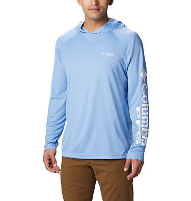 Men's PFG Terminal Tackle™ Hoodie Terminal Tackle™ Hoodie | 455 | XXL, White Cap, White Logo, front