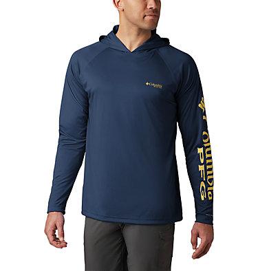 Men's PFG Terminal Tackle™ Hoodie Terminal Tackle™ Hoodie | 455 | XXL, Carbon, Sunlit Logo, front