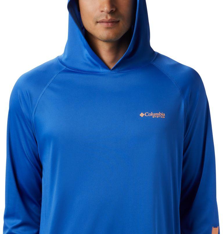 Terminal Tackle™ Hoodie | 489 | L Men's PFG Terminal Tackle™ Hoodie, Vivid Blue, Bright Nectar Logo, a1