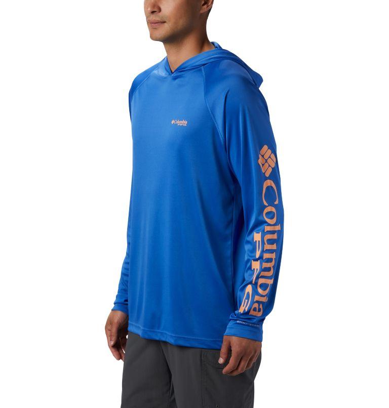 Terminal Tackle™ Hoodie | 489 | L Men's PFG Terminal Tackle™ Hoodie, Vivid Blue, Bright Nectar Logo, a2