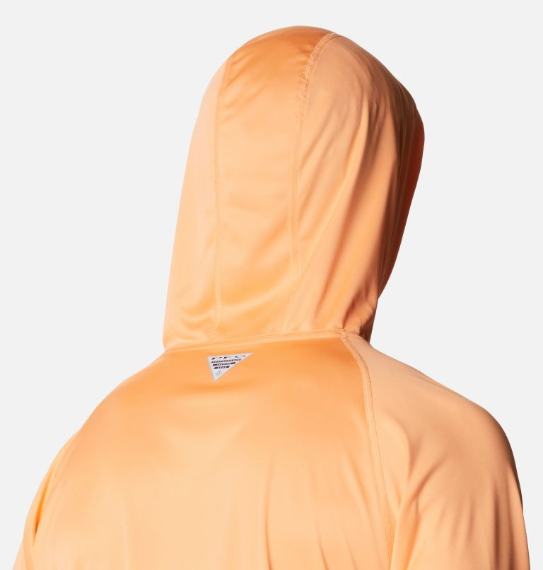 Terminal Tackle™ Hoodie | 873 | S Men's PFG Terminal Tackle™ Hoodie, Bright Nectar, Vivid Blue Logo, a3