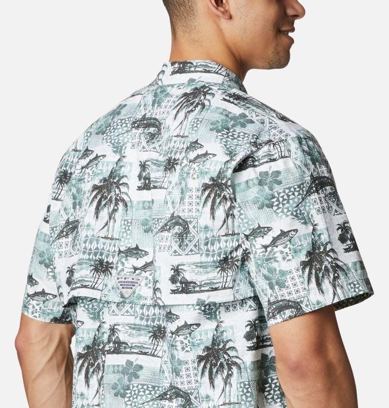 Trollers Best™ SS Shirt | 344 | XL Men's PFG Trollers Best™ Short Sleeve Shirt, Pond Polynesian Print, a3