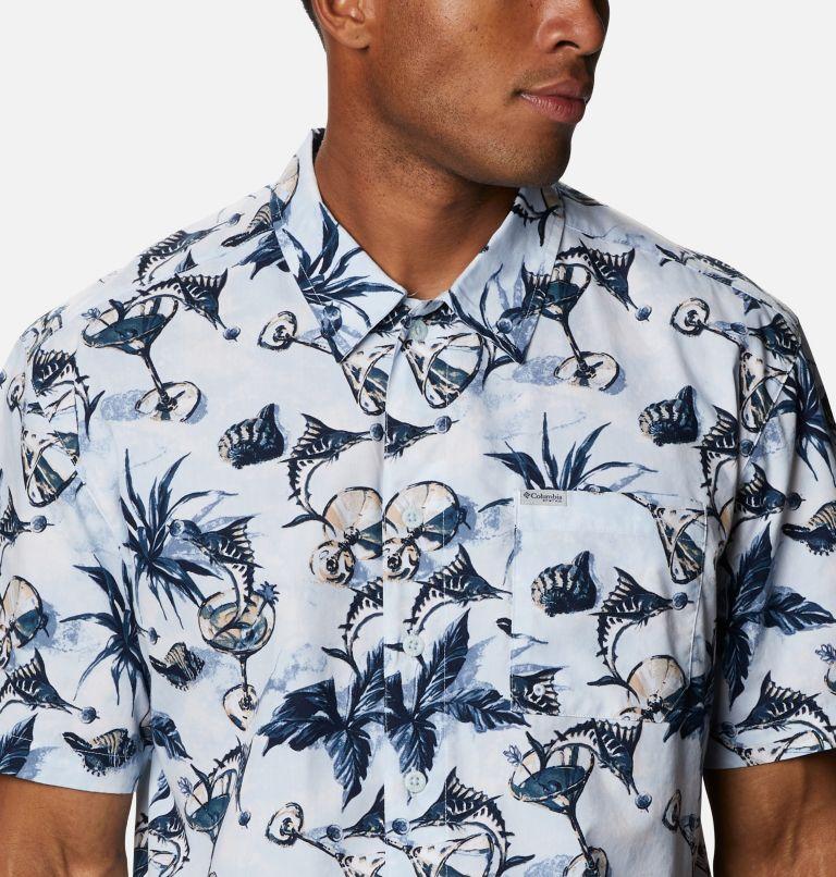 Trollers Best™ SS Shirt | 402 | L Men's PFG Trollers Best™ Short Sleeve Shirt, Daydream Martini Marlin Print, a2