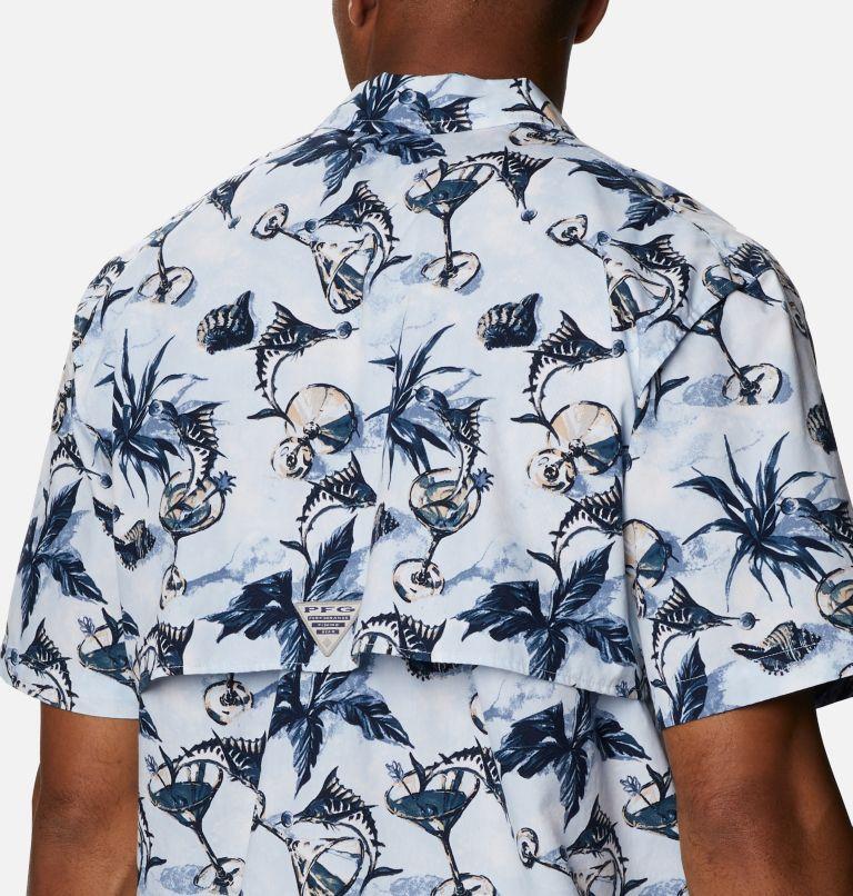 Trollers Best™ SS Shirt | 402 | XS Men's PFG Trollers Best™ Short Sleeve Shirt, Daydream Martini Marlin Print, a3
