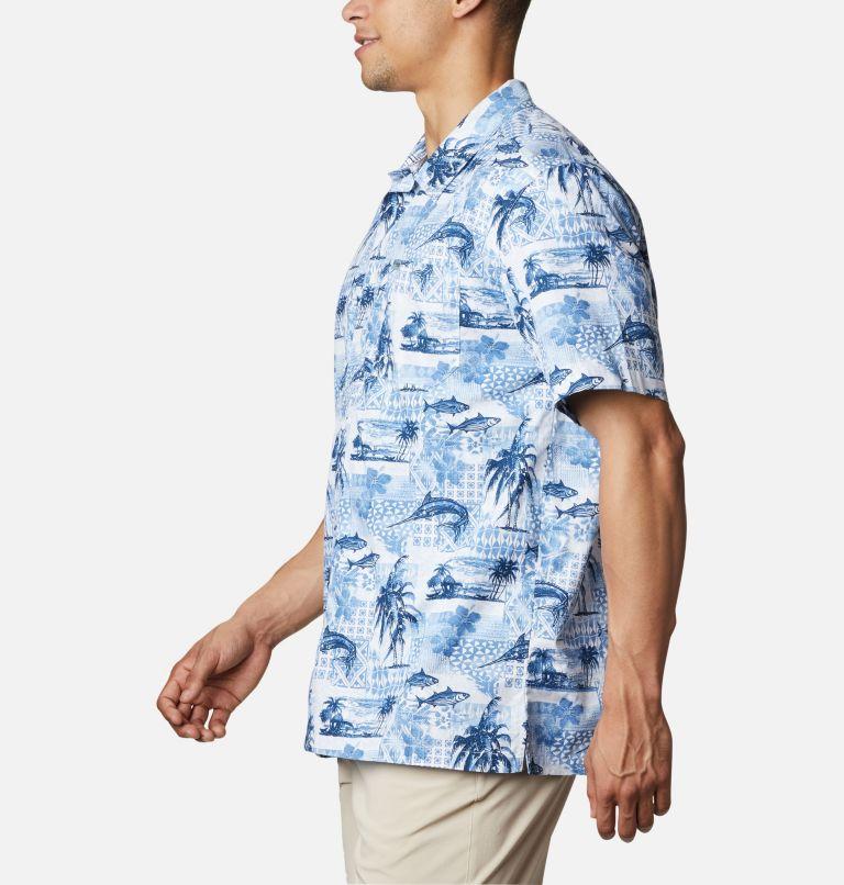 Trollers Best™ SS Shirt | 524 | XL Men's PFG Trollers Best™ Short Sleeve Shirt, Skyler Polynesian Print, a1