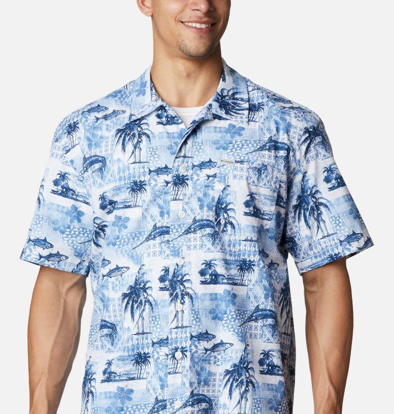 Trollers Best™ SS Shirt | 524 | XL Men's PFG Trollers Best™ Short Sleeve Shirt, Skyler Polynesian Print, a2
