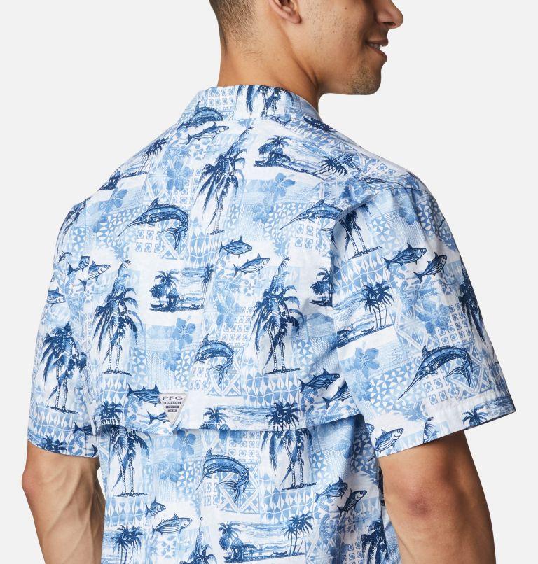 Trollers Best™ SS Shirt | 524 | XL Men's PFG Trollers Best™ Short Sleeve Shirt, Skyler Polynesian Print, a3