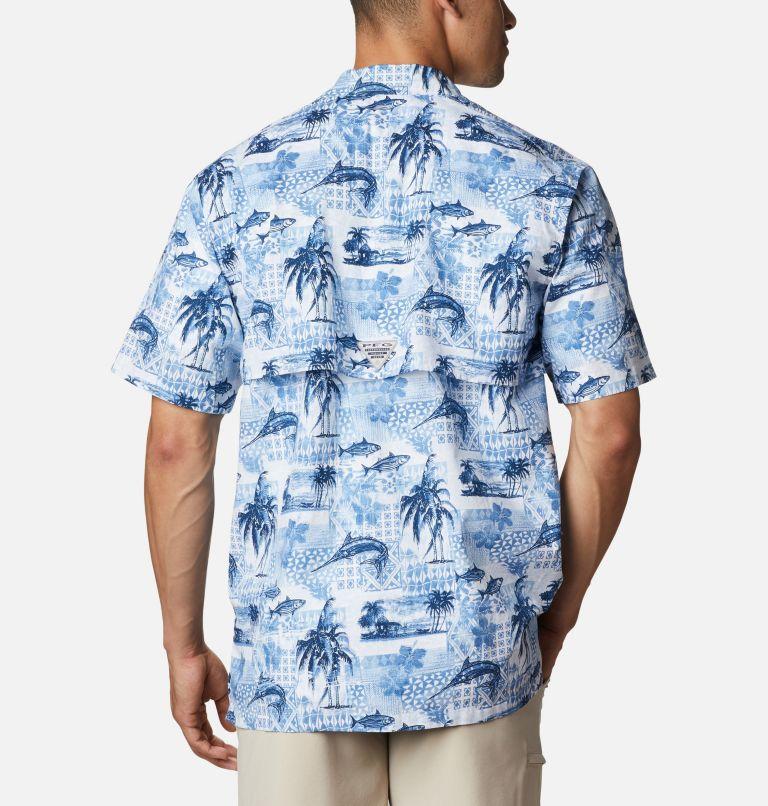 Trollers Best™ SS Shirt | 524 | XL Men's PFG Trollers Best™ Short Sleeve Shirt, Skyler Polynesian Print, back