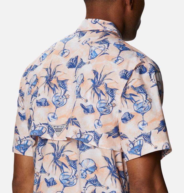 Trollers Best™ SS Shirt | 884 | XS Men's PFG Trollers Best™ Short Sleeve Shirt, King Crab Martini Marlin Print, a3