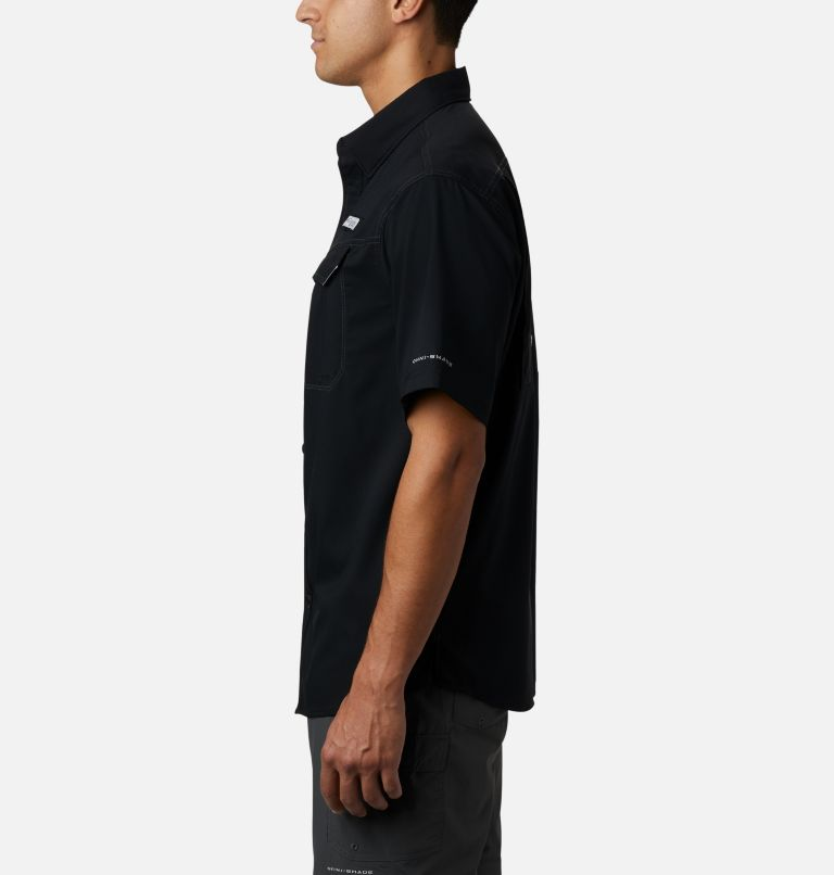 Low Drag Offshore™ SS Shirt   010   L Men's PFG Low Drag Offshore™ Short Sleeve Shirt, Black, a1