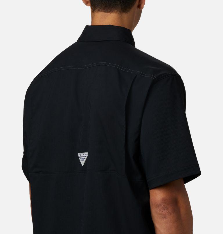 Low Drag Offshore™ SS Shirt | 010 | L Men's PFG Low Drag Offshore™ Short Sleeve Shirt, Black, a2
