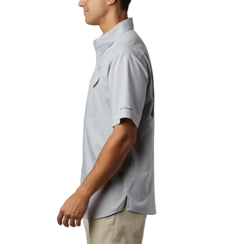 Low Drag Offshore™ SS Shirt | 019 | M Men's PFG Low Drag Offshore™ Short Sleeve Shirt, Cool Grey, a1