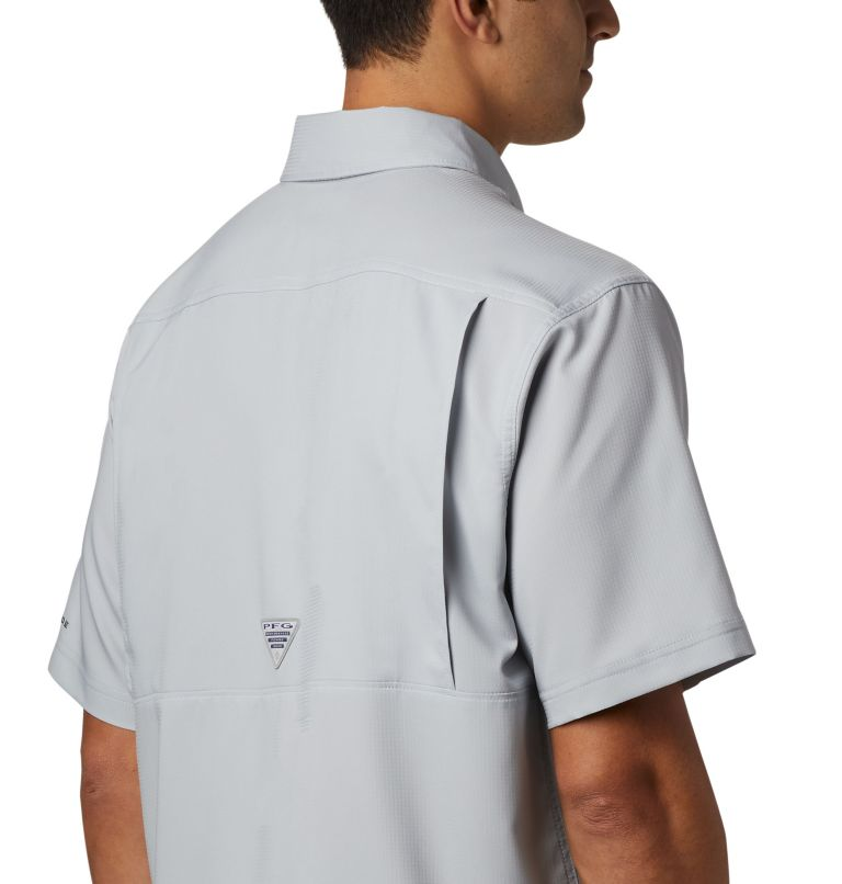 Low Drag Offshore™ SS Shirt | 019 | M Men's PFG Low Drag Offshore™ Short Sleeve Shirt, Cool Grey, a2