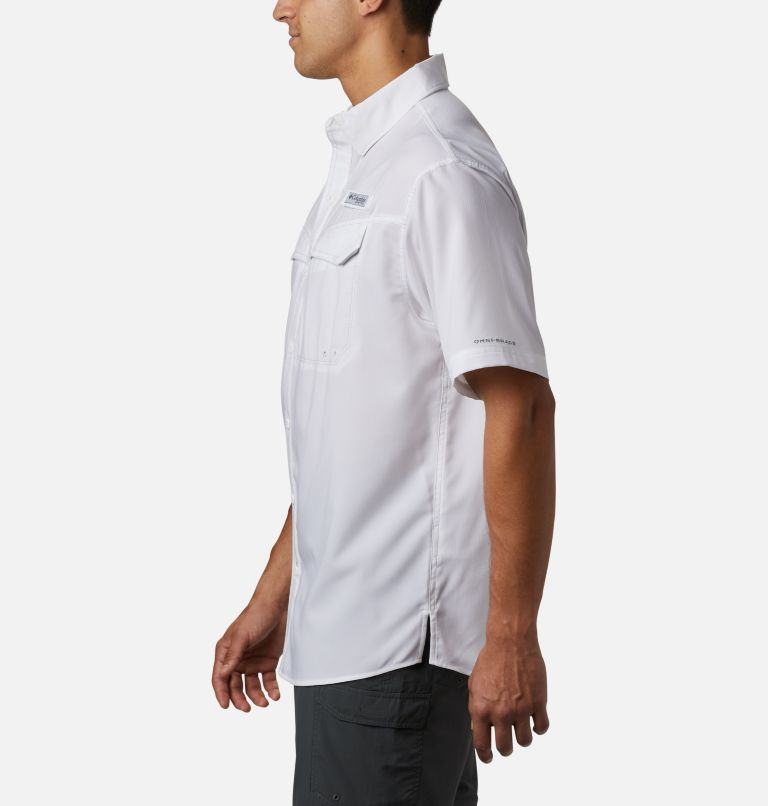 Low Drag Offshore™ SS Shirt | 100 | L Men's PFG Low Drag Offshore™ Short Sleeve Shirt, White, a1