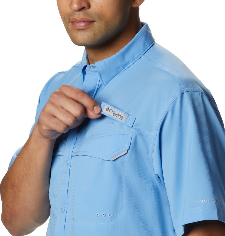 Low Drag Offshore™ SS Shirt   450   L Men's PFG Low Drag Offshore™ Short Sleeve Shirt, White Cap, a1
