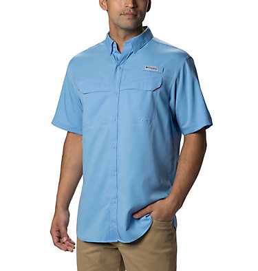 Men's PFG Low Drag Offshore™ Short Sleeve Shirt Low Drag Offshore™ SS Shirt | 967 | XS, White Cap, front