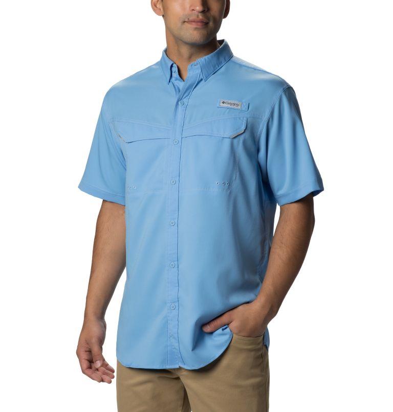Low Drag Offshore™ SS Shirt   450   L Men's PFG Low Drag Offshore™ Short Sleeve Shirt, White Cap, front