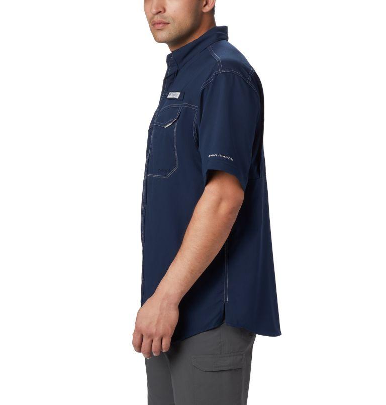 Low Drag Offshore™ SS Shirt | 464 | L Men's PFG Low Drag Offshore™ Short Sleeve Shirt, Collegiate Navy, a1