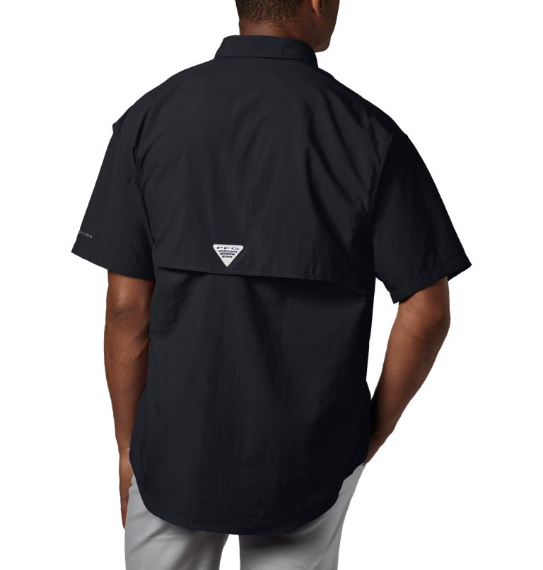 Bahama™ II S/S Shirt | 010 | M Men's PFG Bahama™ II Short Sleeve Shirt, Black, back