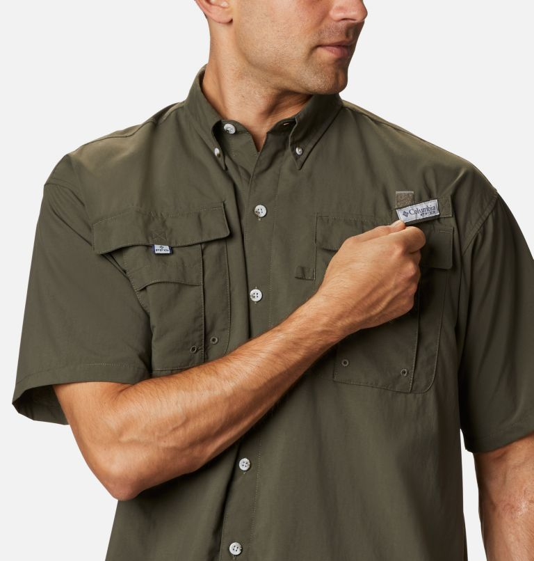 Bahama™ II S/S Shirt | 326 | XL Men's PFG Bahama™ II Short Sleeve Shirt, Alpine Tundra, a2