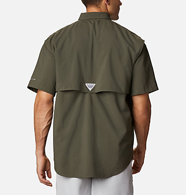 Men's PFG Bahama™ II Short Sleeve Shirt Bahama™ II S/S Shirt | 480 | M, Alpine Tundra, back