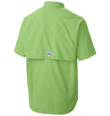 Men's PFG Bahama™ II Short Sleeve Shirt Bahama™ II S/S Shirt | 480 | M, Jade Lime, back