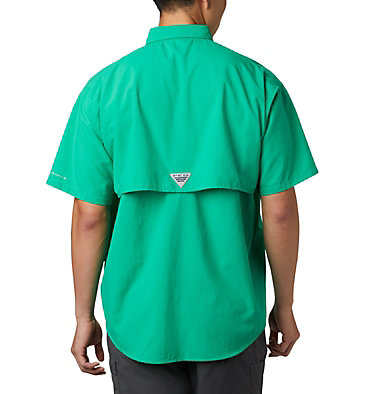Men's PFG Bahama™ II Short Sleeve Shirt Bahama™ II S/S Shirt | 341 | L, Dark Lime, back