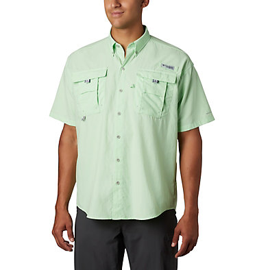 Men's PFG Bahama™ II Short Sleeve Shirt Bahama™ II S/S Shirt | 480 | M, Key West, front