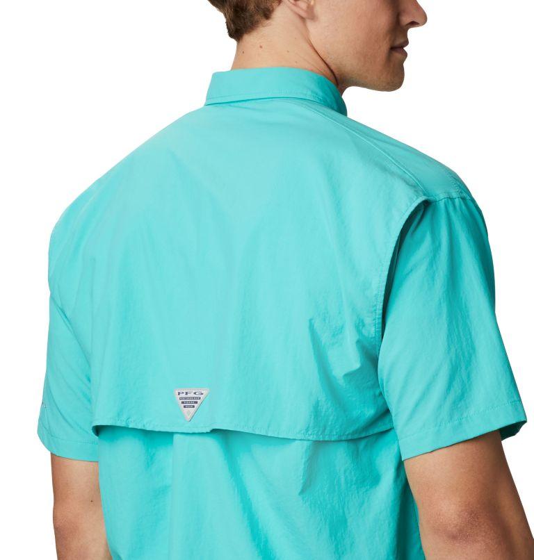 Bahama™ II S/S Shirt | 456 | XS Men's PFG Bahama™ II Short Sleeve Shirt, Bright Aqua, a2