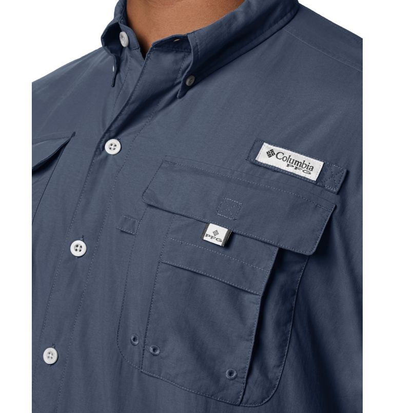 Bahama™ II S/S Shirt | 464 | S Men's PFG Bahama™ II Short Sleeve Shirt, Collegiate Navy, a1