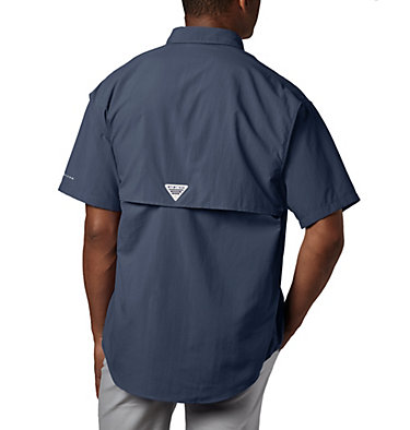 Men's PFG Bahama™ II Short Sleeve Shirt Bahama™ II S/S Shirt | 160 | S, Collegiate Navy, back
