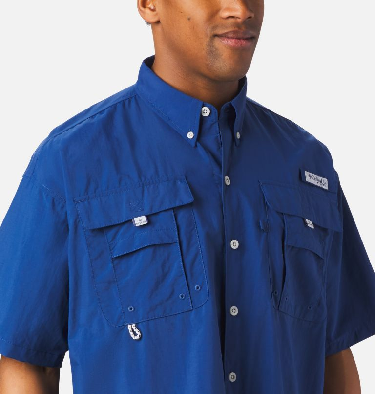 Bahama™ II S/S Shirt | 469 | M Men's PFG Bahama™ II Short Sleeve Shirt, Carbon, a3