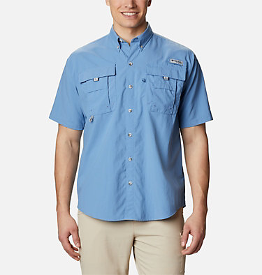 Men's PFG Bahama™ II Short Sleeve Shirt Bahama™ II S/S Shirt | 480 | M, Skyler, front