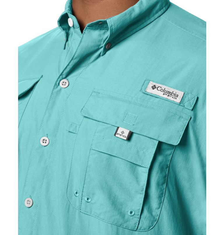 Bahama™ II S/S Shirt | 499 | S Men's PFG Bahama™ II Short Sleeve Shirt, Gulf Stream, a1