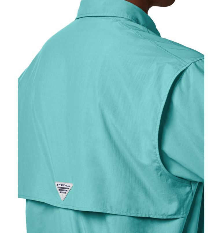 Bahama™ II S/S Shirt | 499 | S Men's PFG Bahama™ II Short Sleeve Shirt, Gulf Stream, a3