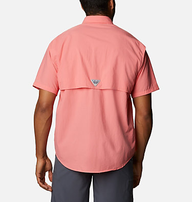 Men's PFG Bahama™ II Short Sleeve Shirt Bahama™ II S/S Shirt | 480 | M, Salmon, back