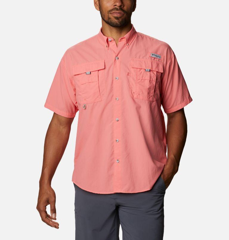 Bahama™ II S/S Shirt | 699 | XL Men's PFG Bahama™ II Short Sleeve Shirt, Salmon, front