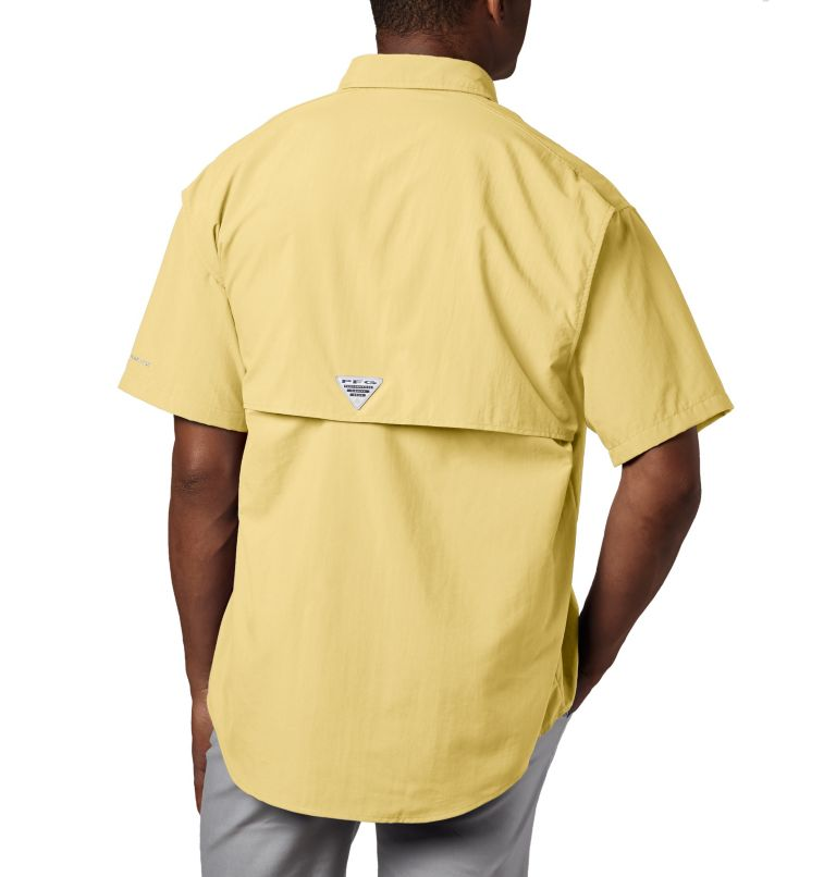 Bahama™ II S/S Shirt | 707 | XS Men's PFG Bahama™ II Short Sleeve Shirt, Sunlit, back