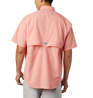 Men's PFG Bahama™ II Short Sleeve Shirt Bahama™ II S/S Shirt | 480 | M, Sorbet, back